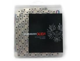 CORRENTE CICLISMO 12V PC-X01 EAGLE 126 ELOS PRATA - SRAM